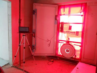 Blower door test minden zugluft finden energie sparen for Fenster nachstellen