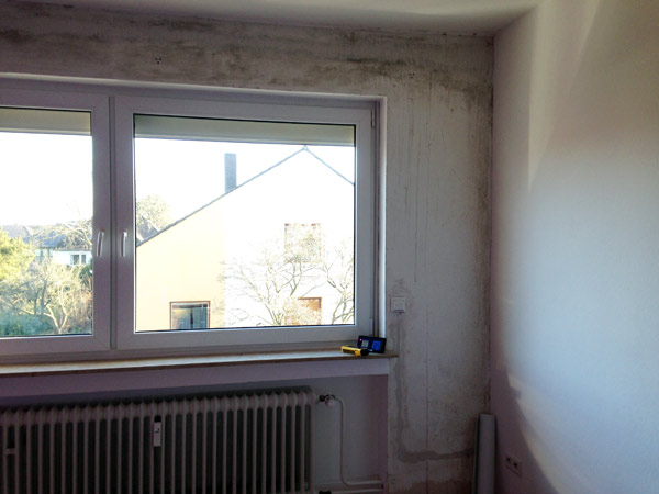 Schimmel nach Fenstertausch in Garbsen